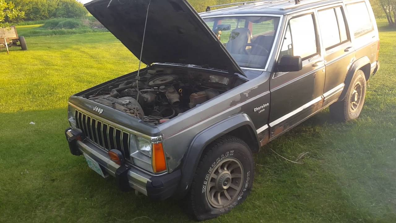 85 jeep cherokee 2 8l v6 youtube rh youtube com Ford Owner's Manual Corvette Owners Manual