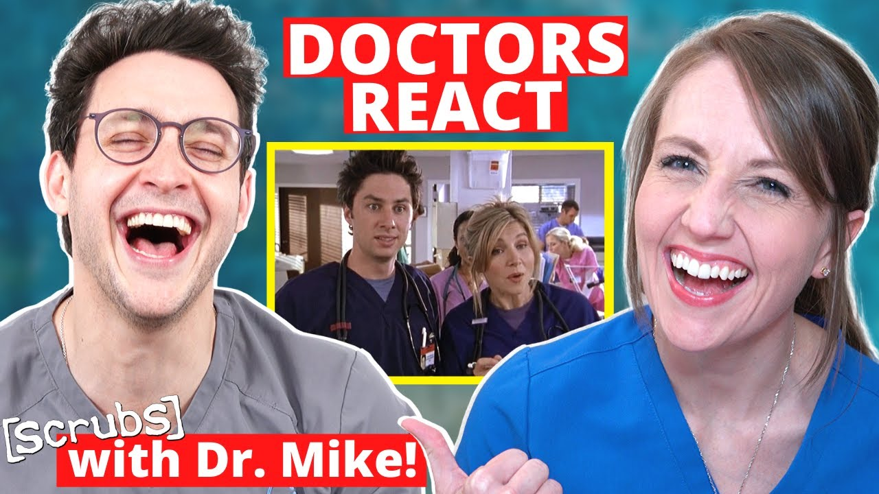 Ob/Gyn Reacts (feat. Doctor Mike!) | Scrubs