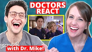 "Ob/Gyn Reacts (feat. Doctor Mike!) | Scrubs ""Gyno Girls"