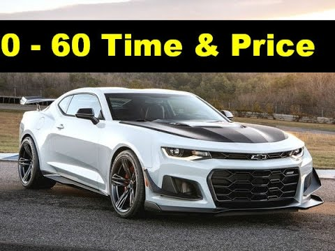 2018 Chevy Camaro Zl1 1le Official Msrp Price Specs 0 60