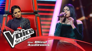 Tharushi Perera - Silsila Ye Chaahat Ka | Blind Auditions | The Voice Sri Lanka Thumbnail