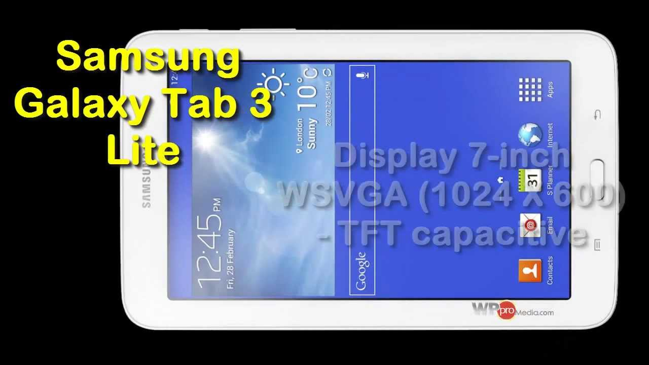 samsung galaxy tab 3 lite specs pics reviews 2014 youtube. Black Bedroom Furniture Sets. Home Design Ideas
