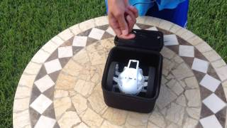 Parrot Jumping Sumo Case Unboxing