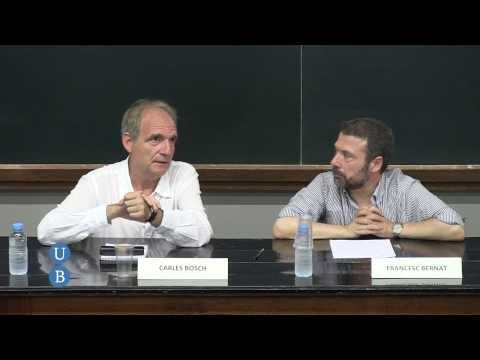 'El periodisme avui', xerrada - col·loqui amb Carles Bosch