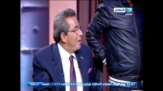 كيف ودع فريق عمل قناة النهار محمود سعد على الهواء.. ورد فعل المُذيع؟ (فيديو)