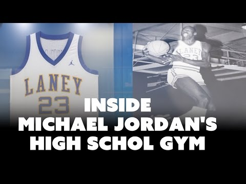 Inside Michael Jordan's High School Gym: A Trip to Wilmington, NC