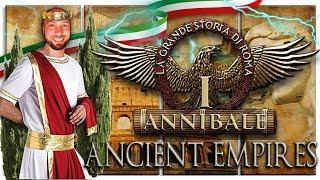 Ancient Empires   La storia di Roma #1   202 AC: Scipione e Annibale a Zama   Attila Mod HD Ita
