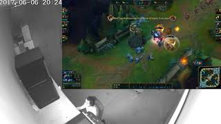[LOL] Turret dive double kill, I lost it! ft. Van