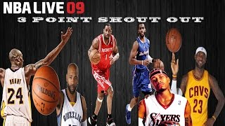 """NBA Live 09 - """"FUNNY"""" 3 Point Contest 