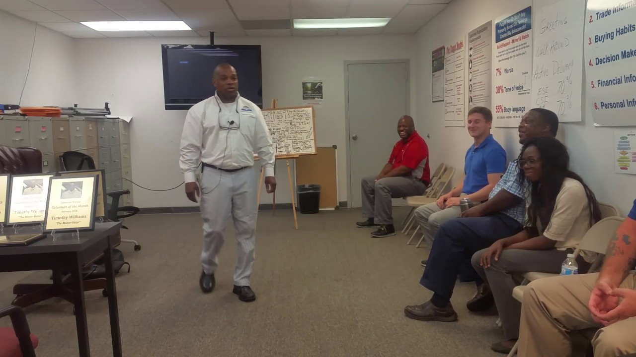 Nissan Of Mobile >> The Motorvator Expert Sales Training Nissan Of Mobile Pt 1 Youtube