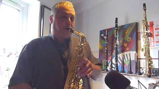 JP245 Eb Alto Saxophone - Pete Long Demonstration