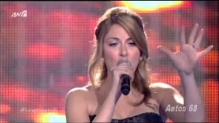 The Voice Of Greece Battles Μαρία Ελενα Κυριάκου vs Εύα Κανατά (Hero) {28/2/2014}