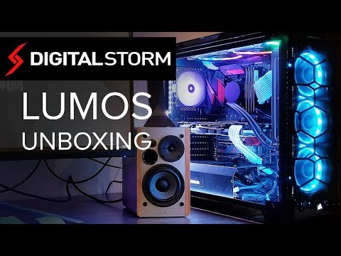 DIGITAL STORM LUMOS CUSTOM PC - Unboxing, First Impressions & My Experience