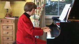 カーニバル/Carnival バスティン ピアノベーシックシリーズ「ピアノ」レベル2。 ジェーン・バスティン先生自身による演奏。 サンディエゴの...
