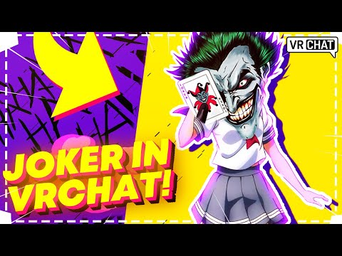 VRChat Funny Moments: Voice Actor Plays As A Joker In VRChat! [VR Funny Moments]