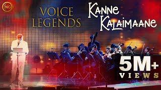 Kanne Kalaimaane | K.J. Yesudas | Moondraam Pirai | Voice of Legends Singapore