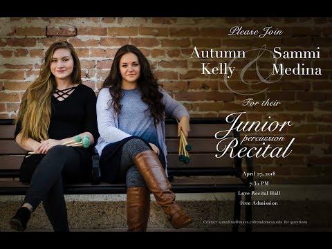 Autumn Kelly & Sammi Medina: Junior Percussion Recital