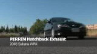 perrin performance 2008 subaru wrx hatchback exhaust