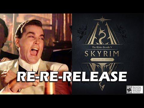 Skyrim 10th Anniversary Re-Re-Re-Re-Re-Re-Re-Re-Release Announced