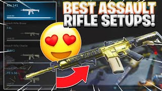 #modernwarfare #codmw #mw BEST CLASS SETUPS FOR ASSAULT RIFLES IN MODERN WARFARE! (RAISE YOUR KD)