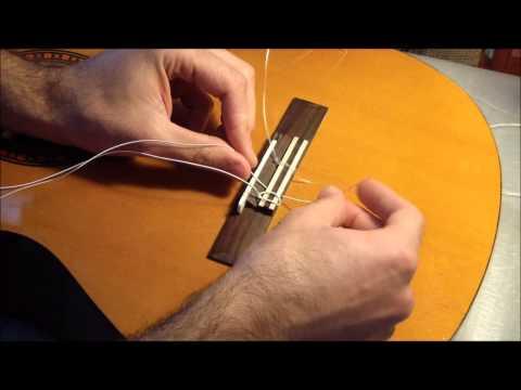 Klasik Gitar Teli Değiştirme