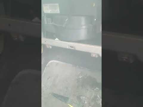Печка шевроле круз дует холодным воздухом с пассажирской стороны!