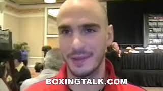 Kelly Pavlik Interview Before Taylor Rematch: Boxingtalk Champions Classic