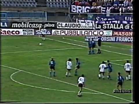 1987/88, Serie A, Pisa - Fiorentina 2-1 (10)