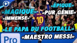 Le génie de Lionel Messi met toute l'Europe à l'unisson | Revue de presse