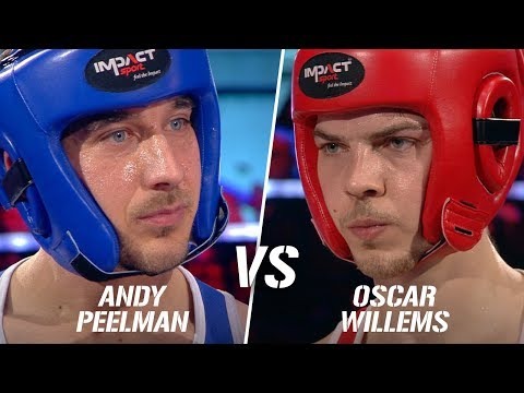 Andy Peelman vs Oscar Willems   Boxing Stars