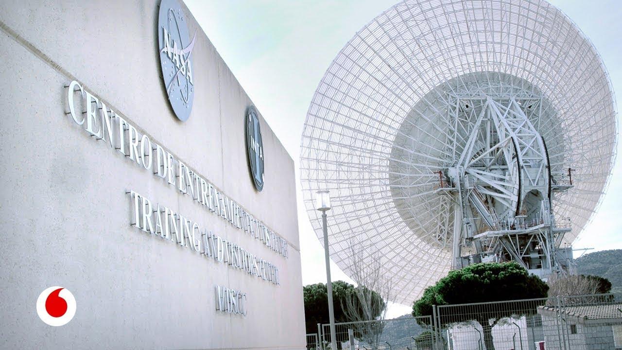 La estación española de la NASA para observar galaxias lejanas