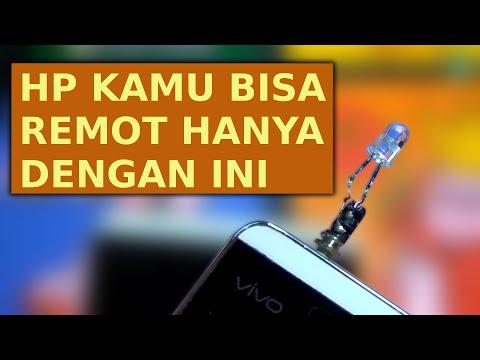 Cara Membuat HP Tanpa IR Bisa Menjadi Remote TV/AC/VCD