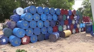 VTC14   Phát hiện hàng nghìn thùng phuy chứa hóa chất công nghiệp