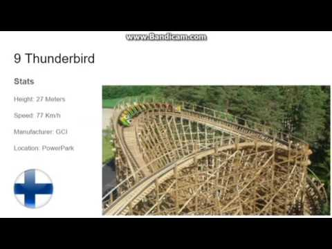 Top 10 Roller Coasters in Scandinavia