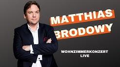 Matthias Brodowy - Live | Wohnzimmerkonzert | Spendenaktion Hospiz Luise