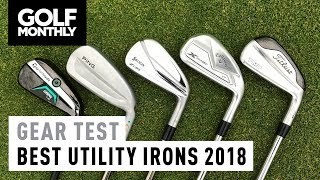 Best Utility Irons 2018 | Gear Test | Golf Monthly