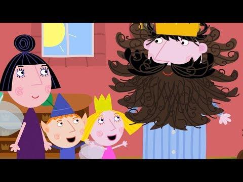 El Pequeño Reino de Ben y Holly - El Rey Cardo no se siente bien - Dibujos Animados