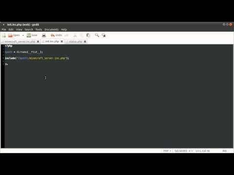 PHP Tutorial: Minecraft Server Status Page [part 01]