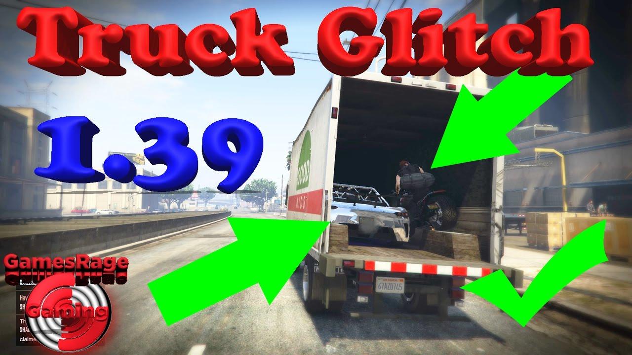 GTA5 : Truck Glitch (*Hidden Cars*)