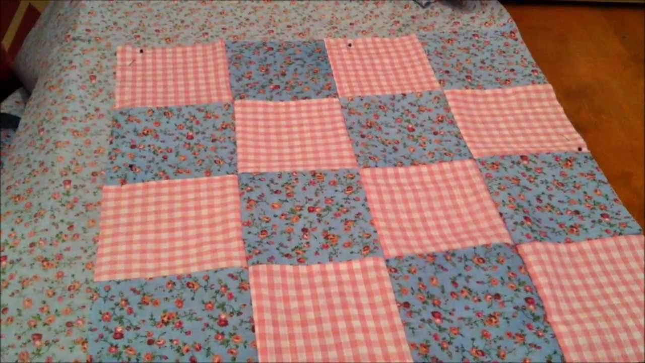 Tutorial Sew A Quilted Bag Youtube