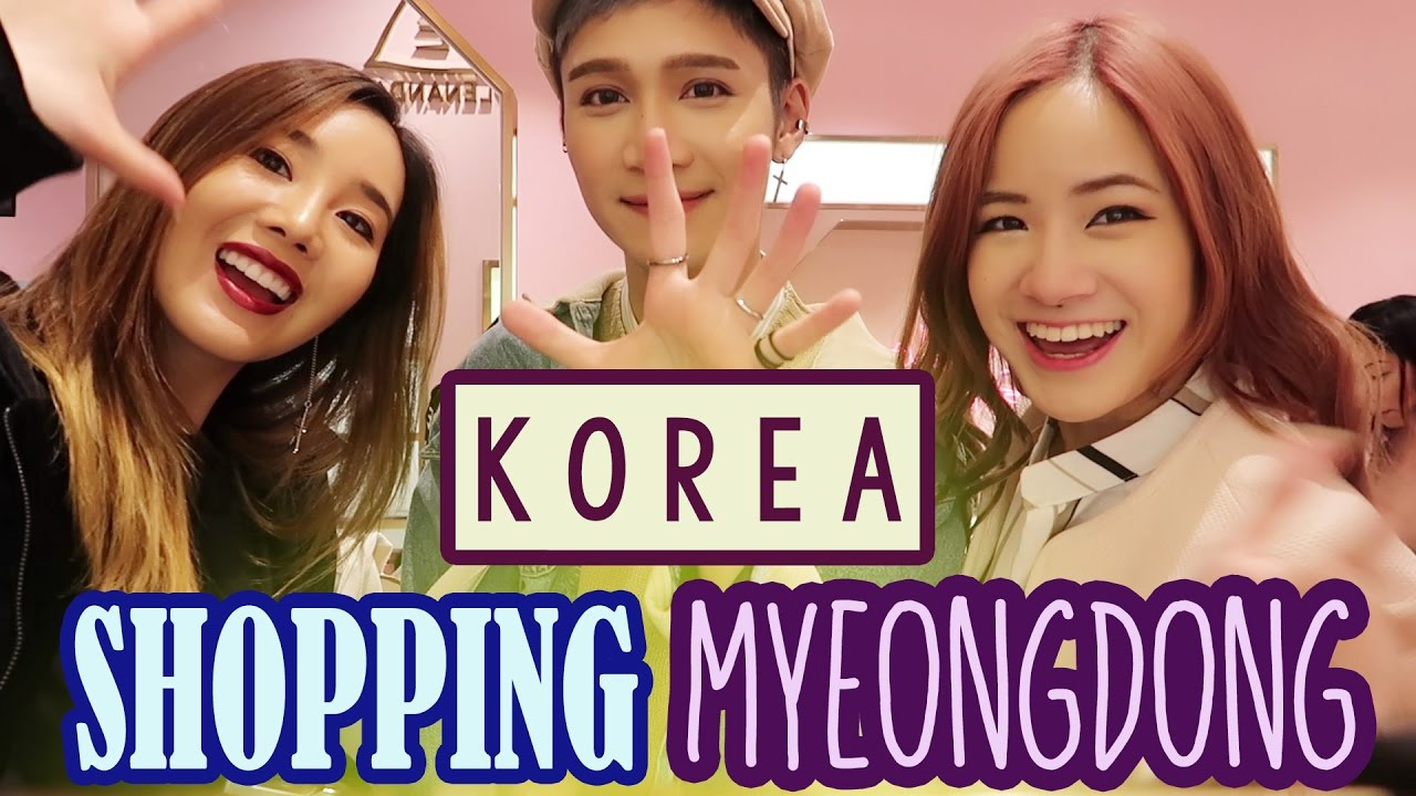 Korea Vlog: Shop in KOREA | Myeongdong STYLE NANDA & Haul