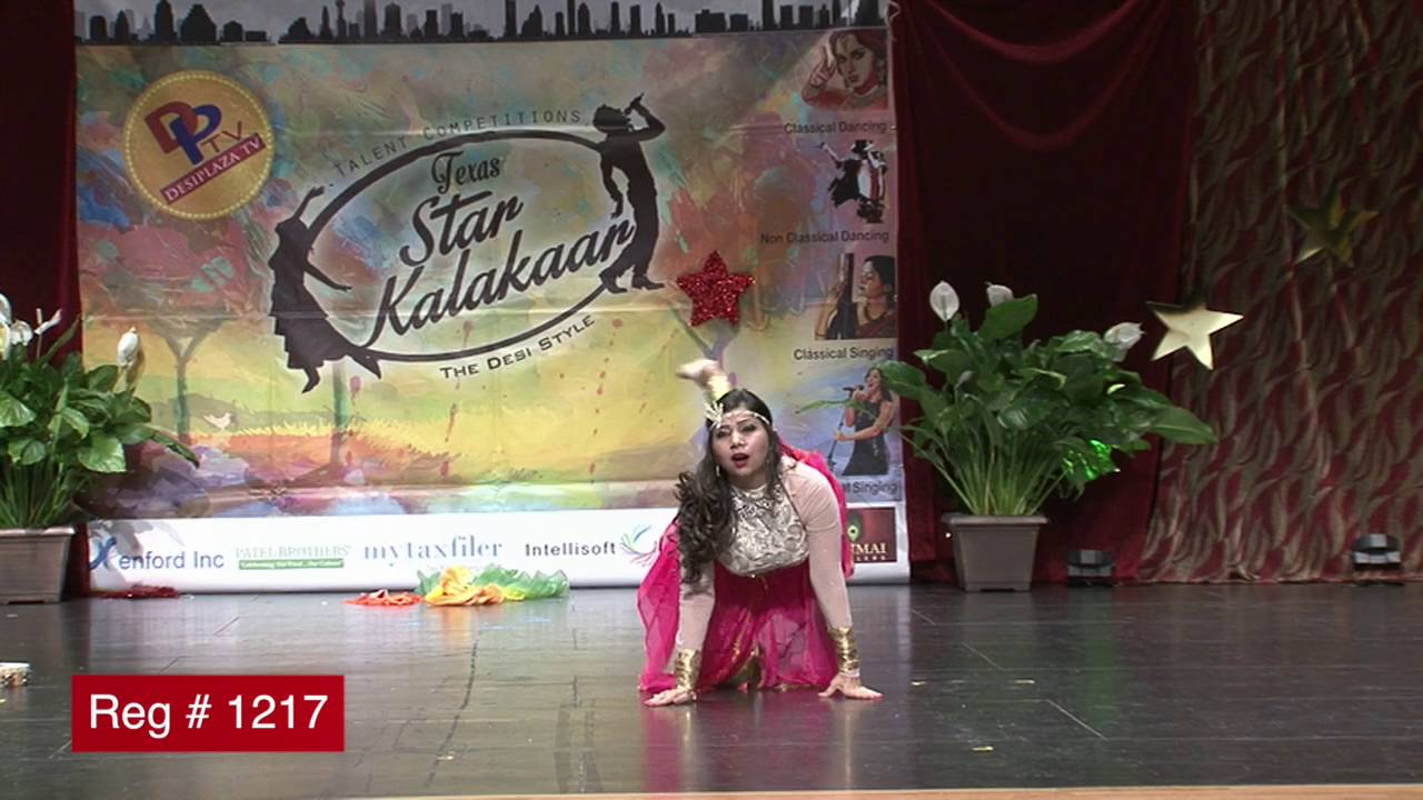 Participant Reg# 1217 Dancing for  Texas Star Kalakaar Title  on Saturday, June 4, 2016