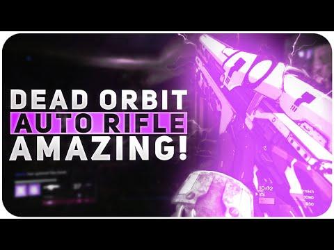Destiny Dead Orbit Auto Rifle is AMAZING // Extremophile 011 Rise of Iron Auto Rifle