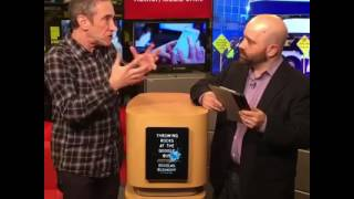 Doug Rushkoff (Part 1) talks about technology and the future of capitalism.