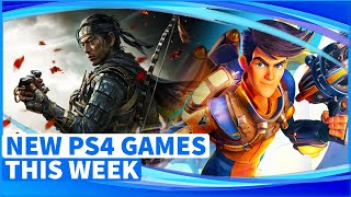 New PS4 Games This Week | New PlayStation 4 Games July 2020