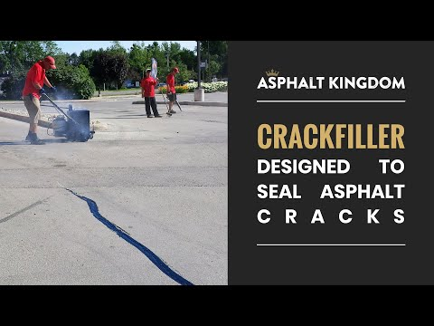 Asphalt Crack Filler Designed To Seal Asphalt Cracks | Tools & Equipment | Asphalt Kingdom