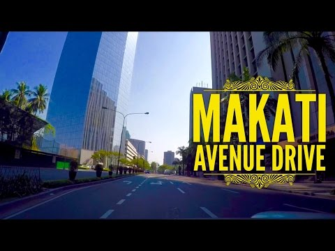 Makati Avenue Driving Tour 2016 by HourPhilippines.com