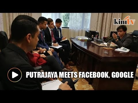 Government meets Facebook, Google to discuss fake news law