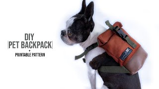 Dog Bag DIY