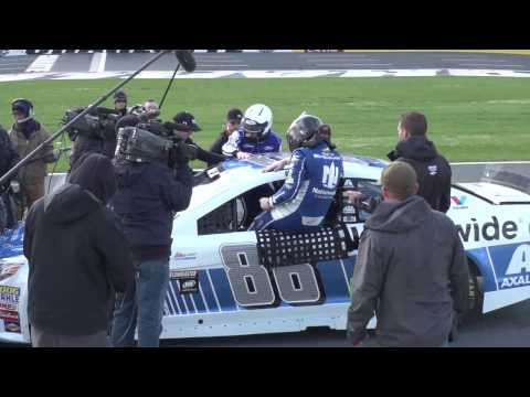 Mark Zuckerberg visits Hendrick Motorsports; rides along with Earnhardt